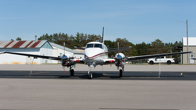 N930MC - Beechcraft C90B King Air - Private