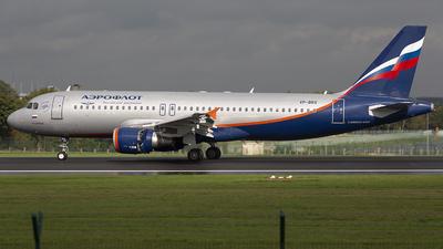 VP-BRX - Airbus A320-214 - Aeroflot