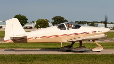 N34WJ - Vans RV-6A - Private