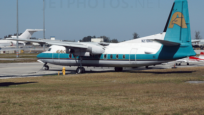 N278MA - Fokker F27-200 Friendship - Eagle Airlines