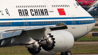 B-2487 - Boeing 747-89L - Air China