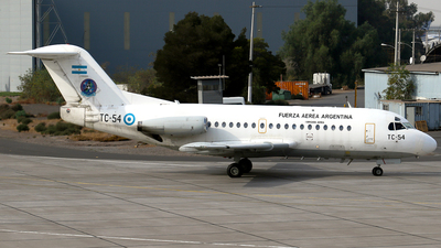 TC-54 - Fokker F28-1000 Fellowship - Argentina - Air Force