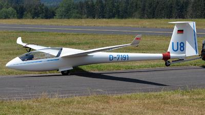 D-7191 - Rolladen-Schneider LS-6C - Private
