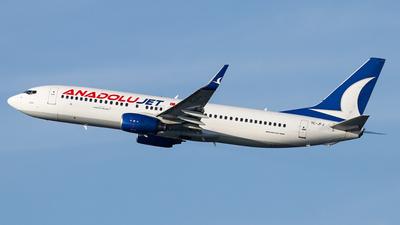 TC-JFJ - Boeing 737-8F2 - AnadoluJet