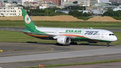 B-17881 - Boeing 787-9 Dreamliner - Eva Air