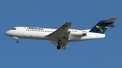 VH-NKU - Fokker 70 - Alliance Airlines