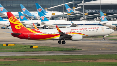 A picture of B1101 - Boeing 73784P - Hainan Airlines - © MICHAELWang