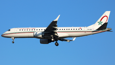 CN-RGP - Embraer 190-100IGW - Royal Air Maroc (RAM)