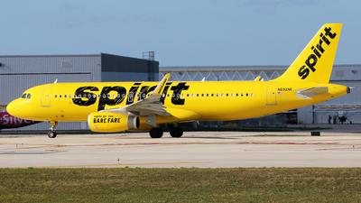 N692NK - Airbus A320-232 - Spirit Airlines