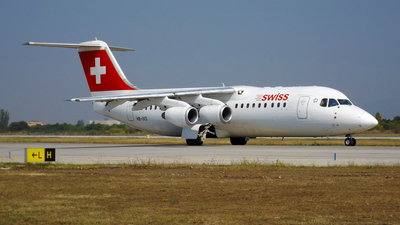 HB-IXO - British Aerospace Avro RJ100 - Swiss
