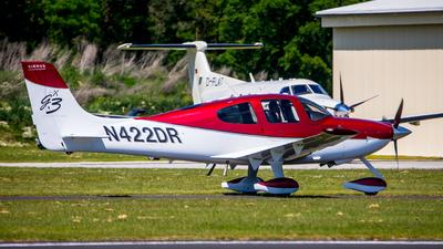 N422DR - Cirrus SR22-GTS G3 - Private