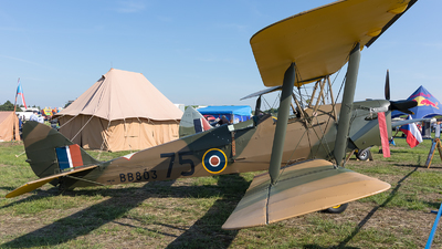 G-ADWJ - De Havilland DH-82A Tiger Moth - Private