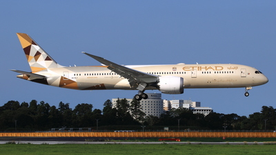 A picture of A6BLY - Boeing 7879 Dreamliner - Etihad Airways - © NRT Spotter