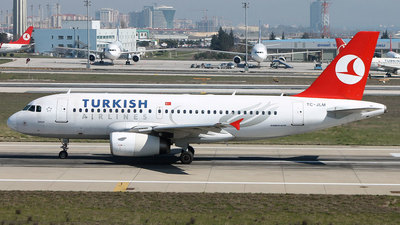 TC-JLM - Airbus A319-132 - Turkish Airlines