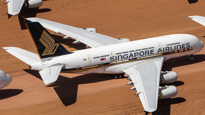 A picture of 9VSKP - Airbus A380841 - Singapore Airlines - © TommyNG