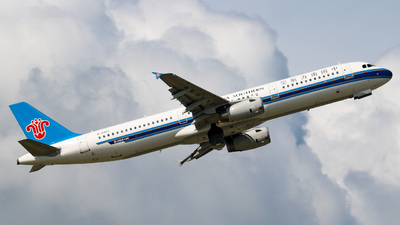 A picture of B6307 - Airbus A321231 - China Southern Airlines - © libohang