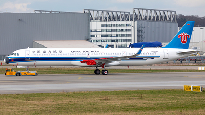 D-AXVU - Airbus A321-253NX - China Southern Airlines