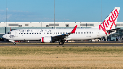 A picture of VHVUZ - Boeing 7378FE - Virgin Australia - © Andrew Lesty