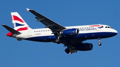 A picture of GDBCG - Airbus A319131 - British Airways - © Andreas van den Berg