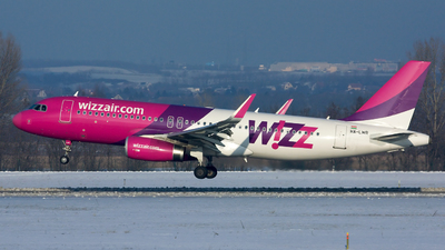 HA-LWR - Airbus A320-232 - Wizz Air
