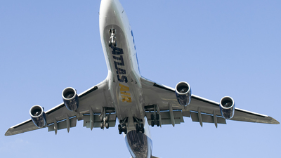 A picture of N850GT - Boeing 74787U(F) - Atlas Air - © eze.ph