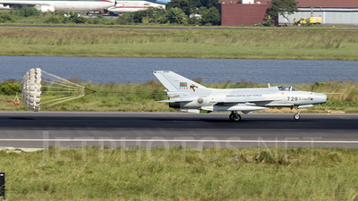 2720 - Chengdu F-7BGI - Bangladesh - Air Force