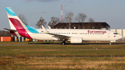 A picture of DABKJ - Boeing 73786J - Eurowings - © German.Aviation