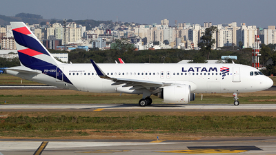 PR-XBD - Airbus A320-271N - LATAM Airlines