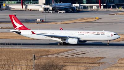 B-HYG - Airbus A330-343 - Cathay Dragon