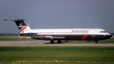 G-BJRU - British Aircraft Corporation BAC 1-11 Series 528FL - British Airways
