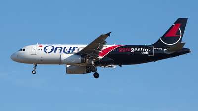TC-ODE - Airbus A320-232 - Onur Air