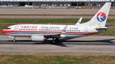 B-2502 - Boeing 737-7W0 - China Eastern Airlines