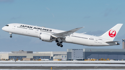 A picture of JA862J - Boeing 7879 Dreamliner - Japan Airlines - © bill wang