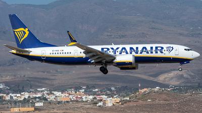 EI-HGG - Boeing 737-8-200 MAX - Ryanair