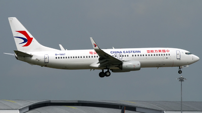 B-1907 - Boeing 737-89P - China Eastern Airlines
