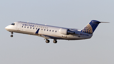 N701BR - Bombardier CRJ-200ER - United Express (SkyWest Airlines)
