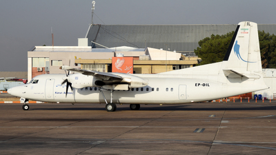 EP-OIL - Fokker 50 - Karun Airlines