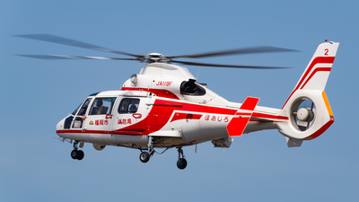 JA119F - Aérospatiale SA 365N2 Dauphin 2 - Japan - Fukuoka City Fire Department Air Corps