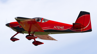 A picture of N72ML - Van's RV7A - [70928] - © Jeremy D. Dando