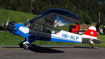 A picture of HBALP - Piper J3C65 Cub - [12026] - © Fabian Zimmerli