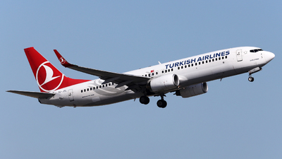 A picture of TCJFL - Boeing 7378F2 - Turkish Airlines - © Firat Cimenli