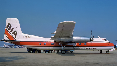 G-BBXI - Handley Page Dart Herald 203 - British Island Airways