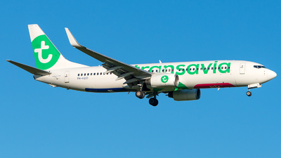 A picture of PHHZO - Boeing 7378K2 - Transavia - © GoldenWingPix