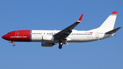 LN-ENO - Boeing 737-8JP - Norwegian