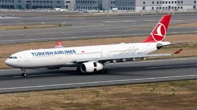 A picture of TCJNI - Airbus A330343 - Turkish Airlines - © Ömür Sadikoglu