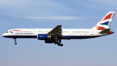G-CPEO - Boeing 757-236 - British Airways