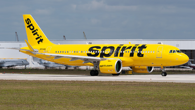 A picture of N934NK - Airbus A320271N - Spirit Airlines - © Mark Lawrence