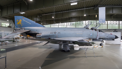 38-34 - McDonnell Douglas F-4F Phantom II - Germany - Air Force