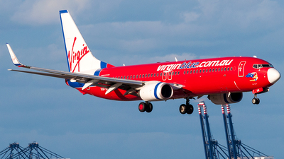 VH-VUR - Boeing 737-8FE - Virgin Blue Airlines