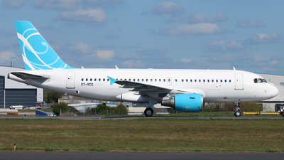 OY-RCG - Airbus A319-115 - Canarian Airways